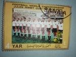 Stamps Yemen -  Mundial de Futbol