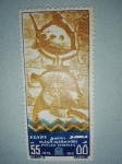 Stamps Egypt -  Templos