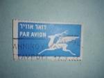Sellos de Asia - Israel -  Air Mail