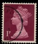 Stamps United Kingdom -  REINO UNIDO_SCOTT MH23.04 $0.25