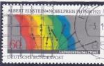 Sellos de Europa - Alemania -  ALBERT EINSTEIN-NOBEL