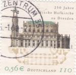 Sellos de Europa - Alemania -  250 AÑOS IGLESIA DE DRESDE