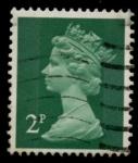 Stamps United Kingdom -  REINO UNIDO_SCOTT MH30.01 $0.25