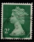 Stamps United Kingdom -  REINO UNIDO_SCOTT MH30.03 $0.25
