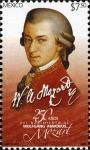 Sellos de America - México -  250 años del natalicio de Woftgan Amadeus Mozart