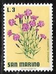 sellos de Europa - San Marino -  Cottage Pink