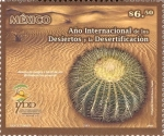 sellos de America - México -  Año Internacional de los Desiertos y la Desertificacion