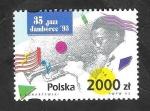 Sellos de Europa - Polonia -  3264 - 35º Festival de jazz en Varsovia, Jamboree 93