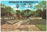Stamps : America : Honduras :  EXPOSICIÓN  FILATÉLICA  1978.  CAMPO  DE  PELOTA  RUINAS  DE  COPÁN.