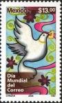 Stamps America - Mexico -  Dia Mundial del Correo