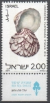 Stamps of the world : Israel :  CONCHAS  MARINAS.  LIOCONCHA  CASTRENSIS.