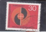 Stamps Germany -  PLENARIO ECUMÉNICO AUGSBURG-71