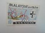 Stamps Malaysia -  Flora