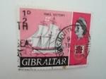 Sellos de Europa - Gibraltar -  Barco