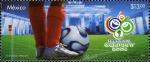 Sellos del Mundo : America : México : Copa Mundial de la FIFA Alemania 2006