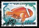 Sellos de Asia - Corea del norte -  Tomato Clownfish
