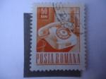 Sellos de Europa - Rumania -  Teléfono-Telecomunicaciones