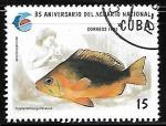 Sellos del Mundo : America : Cuba : 35 Aniversario del Acuario Nacional