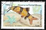 Sellos de Africa - Guinea Bissau -  Clown Loach