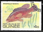 Stamps Guinea -  African Hind