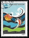 Stamps of the world : Hungary :  Proteccion del medio ambiente