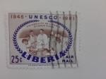 Sellos de Africa - Liberia -  Unesco
