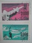 Sellos de Asia - Vietnam -  Aviones