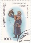 Stamps Kyrgyzstan -  TRAJE TÍPICO