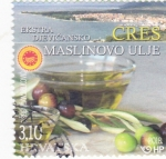 Sellos de Europa - Croacia -  ACEITE DE OLIVA
