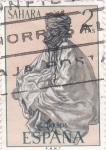 Stamps : Africa : Spain :  HOMBRE DEL DESIERTO