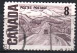Sellos del Mundo : America : Canadá : AUTOPISTA  DE  ALASKA,  POR  A. Y. JACKSON