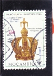 Stamps : Africa : Mozambique :  CORONA