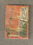 Stamps America - Argentina -  Telar Verticasl Andino, grupo Mapuche