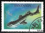 Sellos del Mundo : Africa : Tanzania : Caribbean Lanternshark