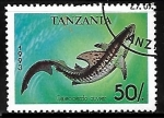 Sellos del Mundo : Africa : Tanzania : Tiger Shark