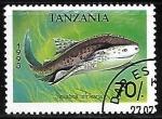 Sellos del Mundo : Africa : Tanzania : African Angelshark