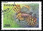 Sellos del Mundo : Africa : Tanzania : Lionfish