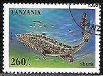 Stamps Tanzania -  Shark