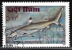 Stamps Vietnam -  Carcharhinus melanopterus