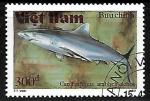 Stamps Vietnam -  Grey Reef Shark