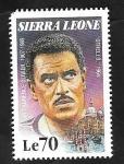 Stamps : Africa : Sierra_Leone :  1190 - Laurence Olivier, en Othello