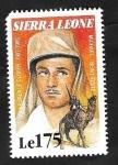 Sellos del Mundo : Africa : Sierra_Leona :  1191 - Laurence Olivier, en Beau geste