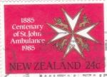 Sellos de Oceania - Nueva Zelanda -  CENTENARIO DE ST.JOHN AMBULANCE