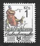 Sellos de Europa - Checoslovaquia -  2815 - XII Bienal de ilustraciones, en Bratislava