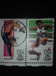 Stamps United States -  Olympiada
