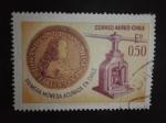 Sellos de America - Chile -  Monedas