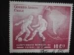 Stamps Chile -  Mundial de Futbol