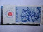 Stamps Bulgaria -  Partidarios - 20 Años de Poder Popular.