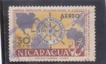 Stamps Nicaragua -  MARINA MERCANTE NICARAGUENSE