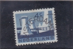 Stamps : Europe : Netherlands :  CENTRALES NUCLEARES